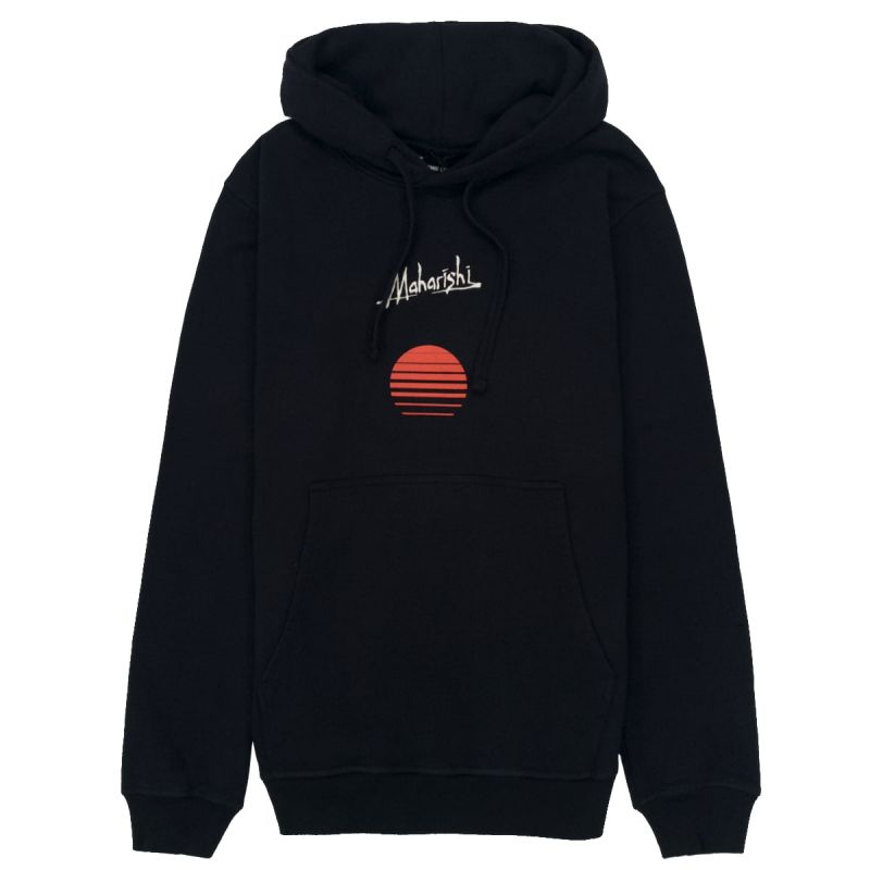Maharishi Hoodie Apocalypse Sunset - Black