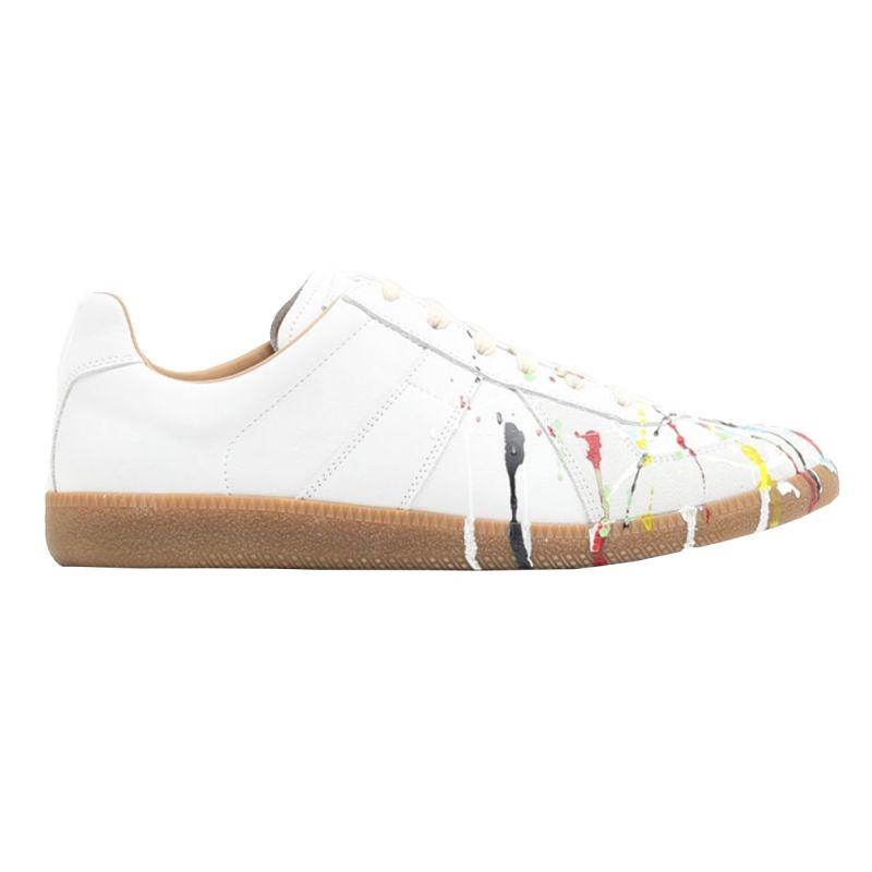 Maison Margiela Sneaker Paint Drop Replica - White