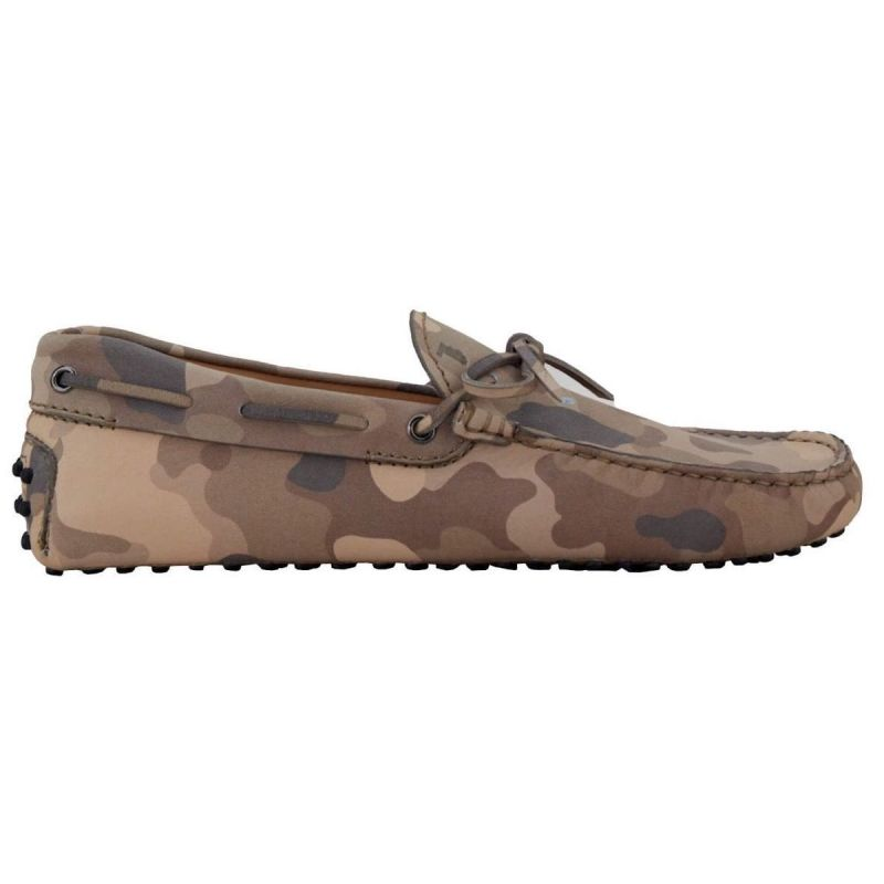Tod's Gommino Driving Shoe - Camo