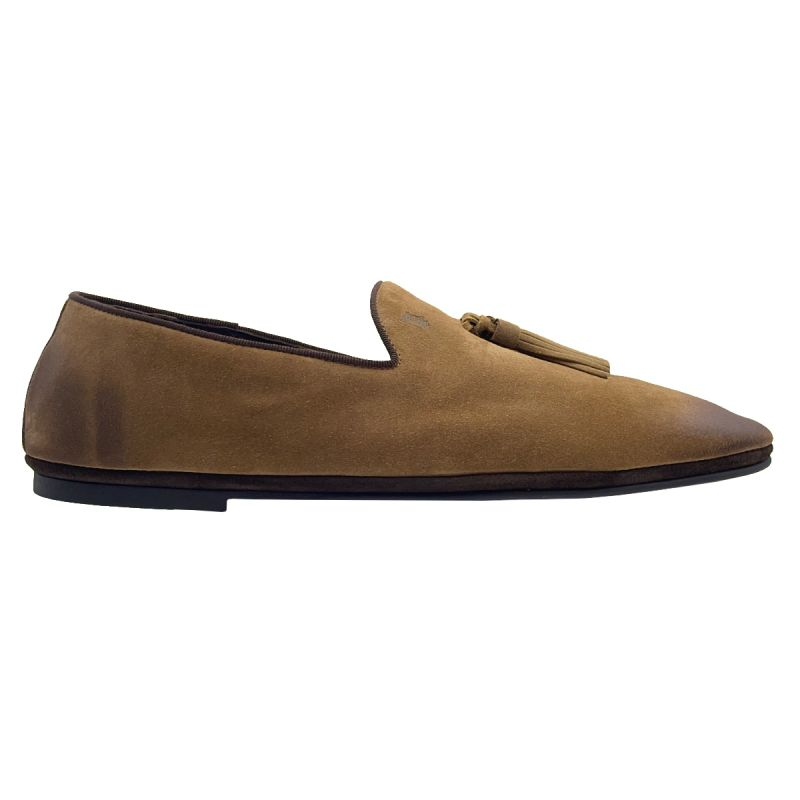 Tod's Loafers Gomma Soft -  Brown