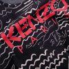Kenzo T-Shirt Navy Mermaids